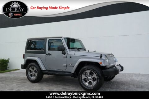 Pre-Owned 2016 Jeep Wrangler Sahara 4WD