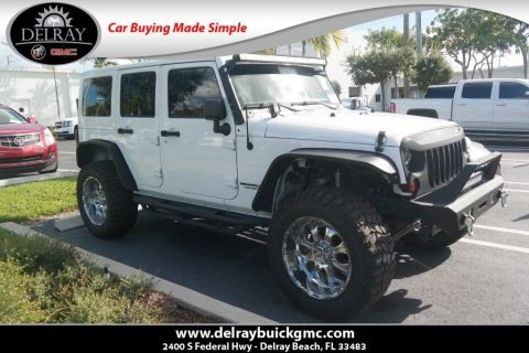 Pre-Owned 2012 Jeep Wrangler Unlimited Sahara 4WD