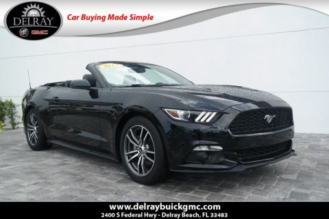 Pre-Owned 2017 Ford Mustang EcoBoost Premium With Navigation