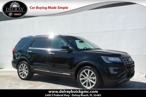 Pre-Owned 2016 Ford Explorer Limited With Navigation