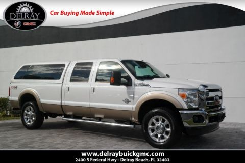 Pre-Owned 2014 Ford Super Duty F-350 SRW Lariat 4WD