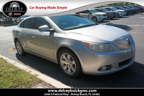 Pre-Owned 2010 Buick LaCrosse CXL