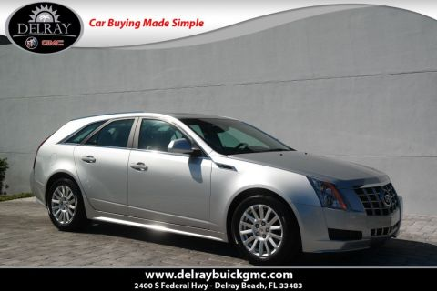 Pre-Owned 2014 Cadillac CTS Wagon Luxury