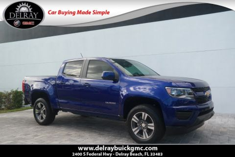Pre Owned 2017 Chevrolet Colorado 2wd Wt Crew Cab Pickup In Delray