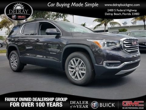 New 2018 GMC Acadia SLT