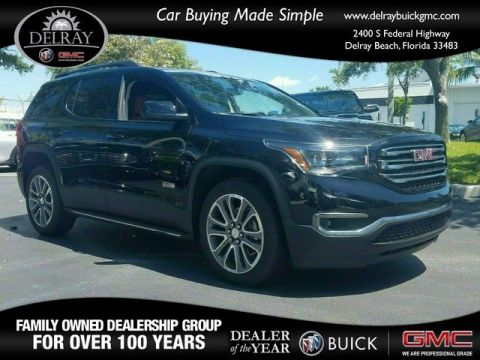 New 2018 GMC Acadia SLT AWD