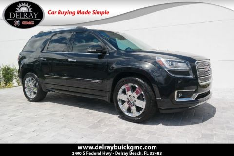 Pre-Owned 2015 GMC Acadia Denali With Navigation