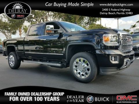 New 2018 GMC Sierra 2500HD Denali 4WD