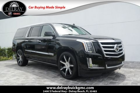 Pre-Owned 2015 Cadillac Escalade ESV Premium With Navigation