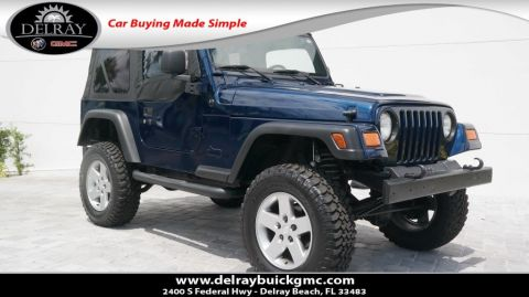 Pre-Owned 2006 Jeep Wrangler SE 4WD