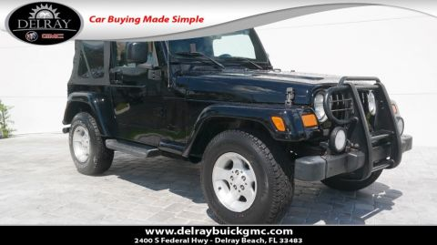 Pre-Owned 2003 Jeep Wrangler Sahara 4WD