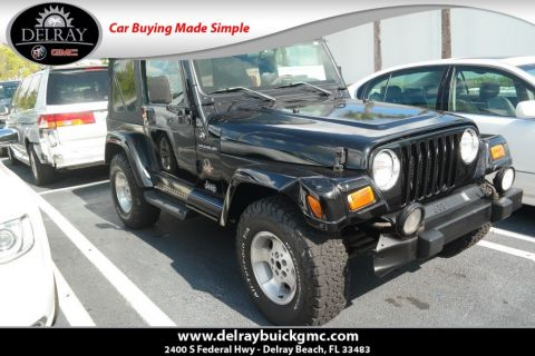 Pre-Owned 2002 Jeep Wrangler Sahara 4WD