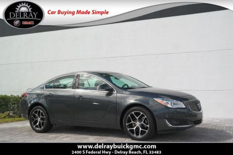 Pre Owned 2017 Buick Regal Sport Touring 4dr Car In Delray Beach