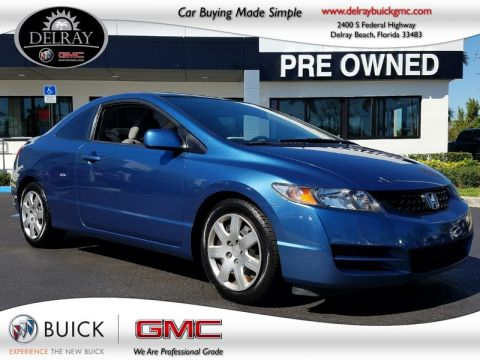 Pre-Owned 2011 Honda CIVIC LX Front Wheel Drive 2 Door Coupe