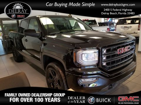 New 2017 GMC SIERRA 1500 SLE Four Wheel Drive Crew Cab Pickup