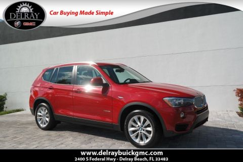 Pre Owned 2016 Bmw X3 Xdrive28i Awd