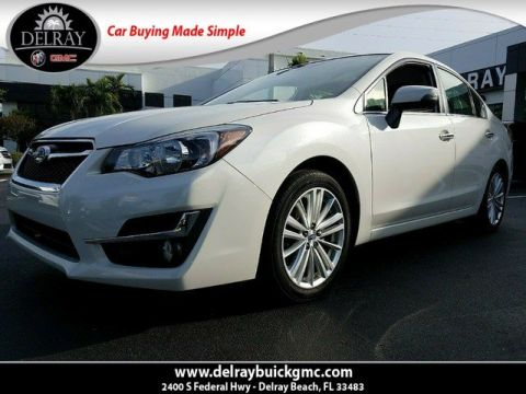 Pre-Owned 2016 Subaru Impreza Sedan Limited AWD