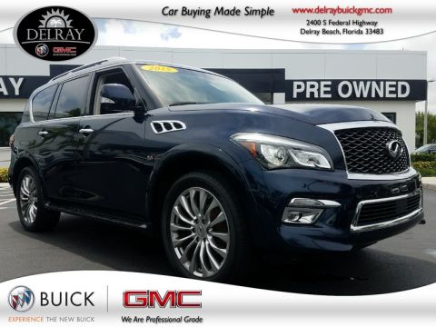 Pre-Owned 2015 INFINITI QX80  All Wheel Drive Sport Utility