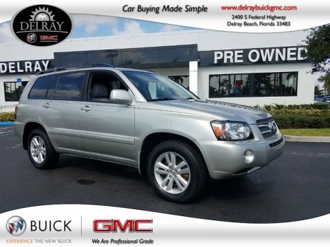 Pre-Owned 2007 TOYOTA HIGHLANDER HYBRID LIMITED