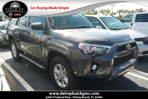 Pre-Owned 2017 Toyota 4Runner SR5 Premium With Navigation
