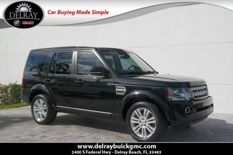 Pre-Owned 2014 Land Rover LR4 LUX 4WD