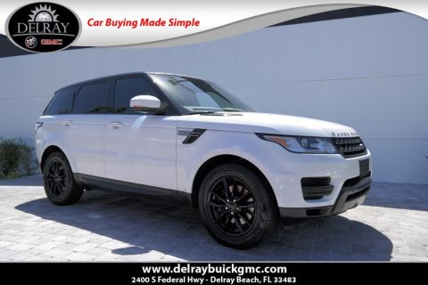 Pre-Owned 2015 Land Rover Range Rover Sport 3.0L V6 Supercharged HSE With Navigation & 4WD