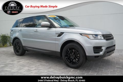 Pre-Owned 2014 Land Rover Range Rover Sport 3.0L V6 Supercharged HSE With Navigation & 4WD