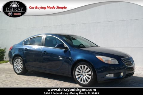Pre Owned 2011 Buick Regal Cxl Turbo To2 4dr Car In Delray Beach