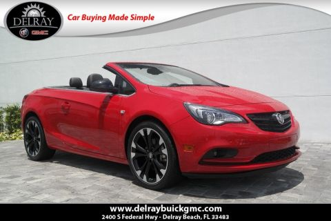 Pre-Owned 2017 Buick Cascada Sport Touring With Navigation