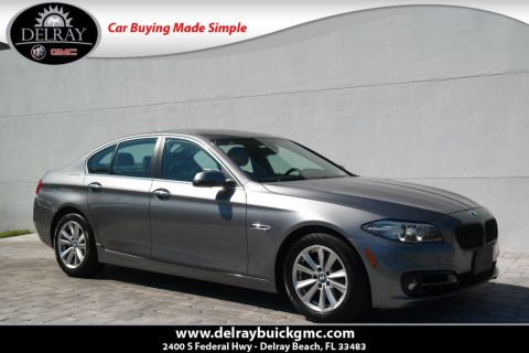 Pre-Owned 2015 BMW 5 Series 528i xDrive With Navigation & AWD