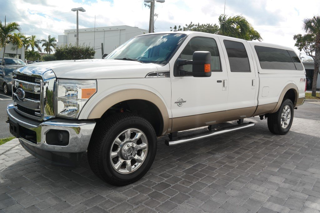 Pre-Owned 2014 Ford Super Duty F-350 SRW Lariat