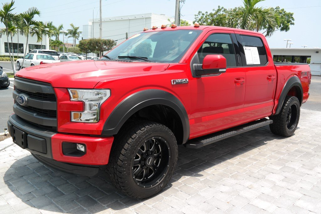 Pre-Owned 2015 Ford F-150 Lariat