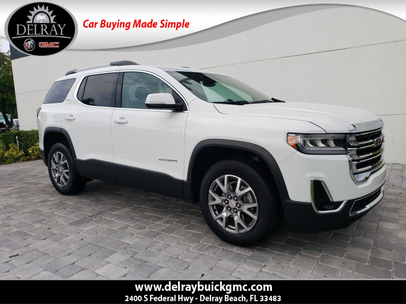 Certified Pre-Owned 2020 GMC Acadia SLT