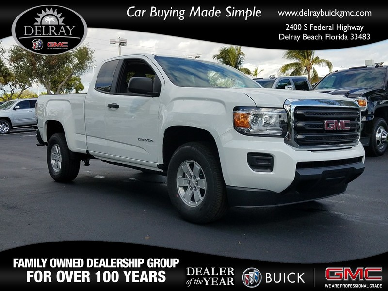 New 2018 gmc canyon 2wd extended cab pickup in delray beach 138197g new 2018 gmc canyon 2wd publicscrutiny Image collections