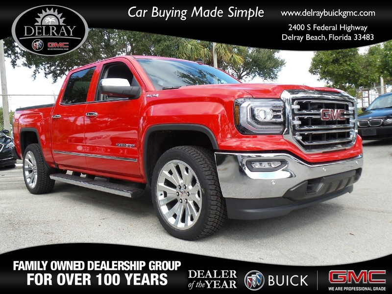 new 2017 gmc sierra 1500 slt crew cab pickup in delray beach 131981g delray buick gmc. Black Bedroom Furniture Sets. Home Design Ideas