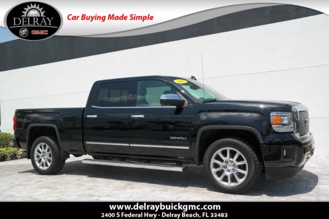 2015 Gmc Sierra Denali >> Certified Pre Owned 2015 Gmc Sierra 1500 Denali Crew Cab Pickup In