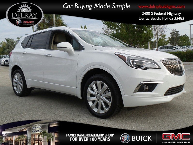 new 2017 buick envision premium ii sport utility vehicle in delray beach 17588b delray buick gmc. Black Bedroom Furniture Sets. Home Design Ideas