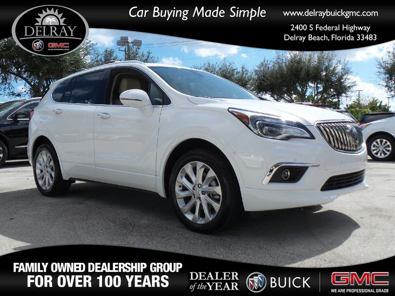 new 2017 buick envision premium ii sport utility vehicle in delray beach 19368b delray buick gmc. Black Bedroom Furniture Sets. Home Design Ideas