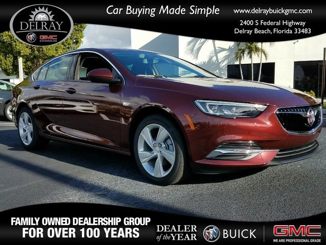 New 2018 Buick Regal Sportback Preferred Hatchback In Delray Beach