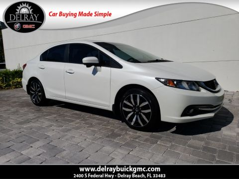 Pre-Owned 2014 Honda Civic EX-L With Navigation