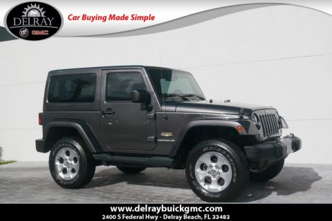 Pre-Owned 2014 Jeep Wrangler Sahara With Navigation & 4WD