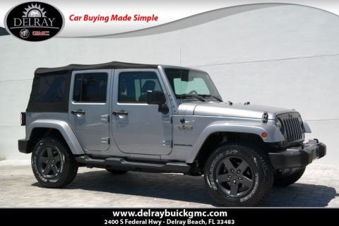 Pre-Owned 2016 Jeep Wrangler Unlimited Freedom 4WD