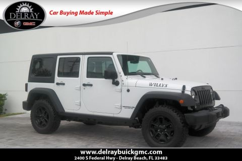 Pre-Owned 2016 Jeep Wrangler Unlimited Willys Wheeler 4WD