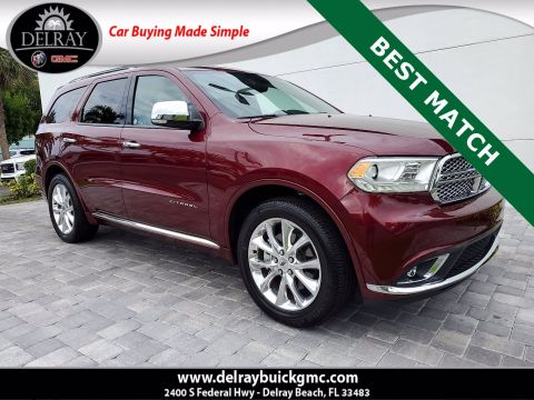 Pre-Owned 2020 Dodge Durango Citadel With Navigation