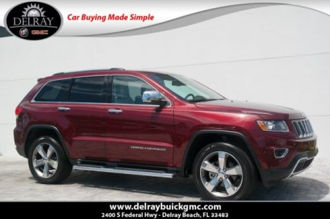 Pre-Owned 2016 Jeep Grand Cherokee Limited With Navigation