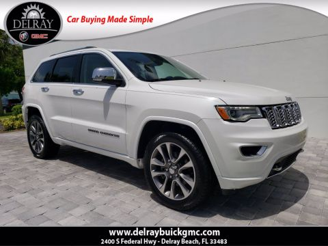 Pre-Owned 2017 Jeep Grand Cherokee Overland With Navigation
