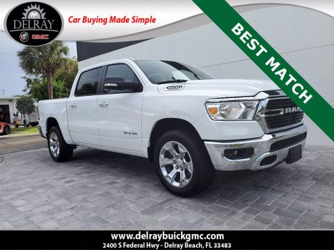 Pre-Owned 2020 Ram 1500 Big Horn/Lone Star 4WD