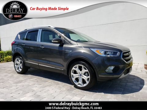 Pre-Owned 2019 Ford Escape Titanium With Navigation