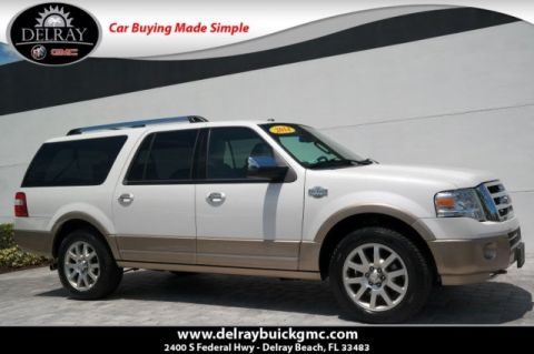 Pre-Owned 2014 Ford Expedition EL King Ranch 4WD