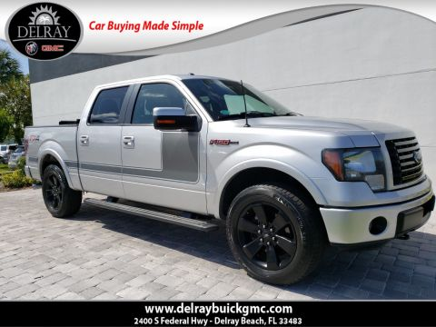 Pre-Owned 2012 Ford F-150 FX4 With Navigation & 4WD